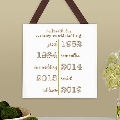 Make Each Day A Story Wood Plaque