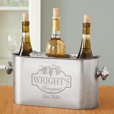 Vineyard Stainless Steel Wine Chiller