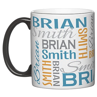 You Name It! Signature Mug-Blue/Orange-11oz-Single Mug