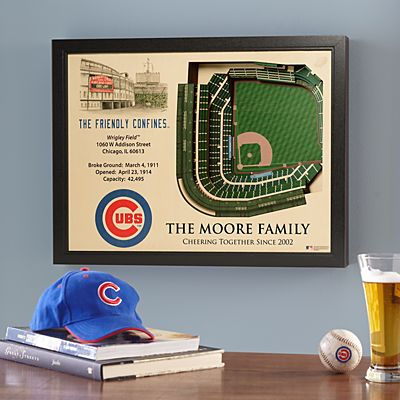 MLB Stadium View Sports Wall Art