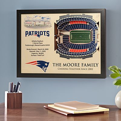 NFL Stadium View Sports Wall Art