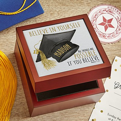 Believe Tile Keepsake Box