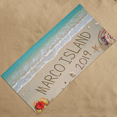 Written In Sand Beach Towel