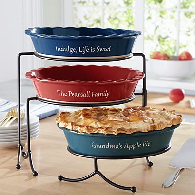 Ceramic Stoneware Pie Baking Dish
