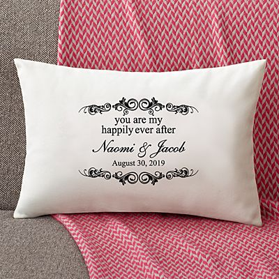 You Are My Happily Ever After Rectangle Pillow