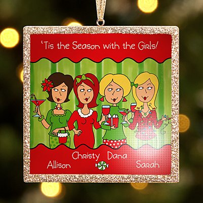 TwinkleBright® LED 'Tis the Season with the Girls Bauble