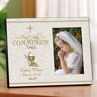 First Communion Keepsake Frame