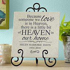 For Loved Ones in Heaven Tile
