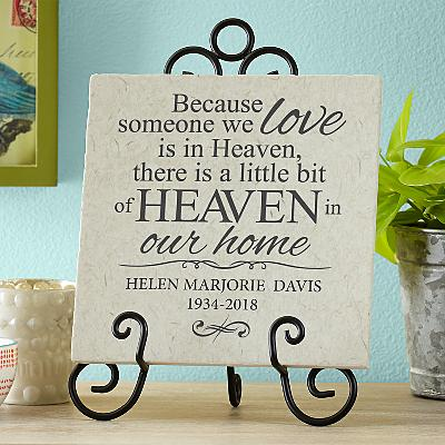 For Loved Ones in Heaven Tile