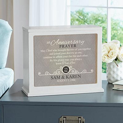 Anniversary Prayer Accent Light