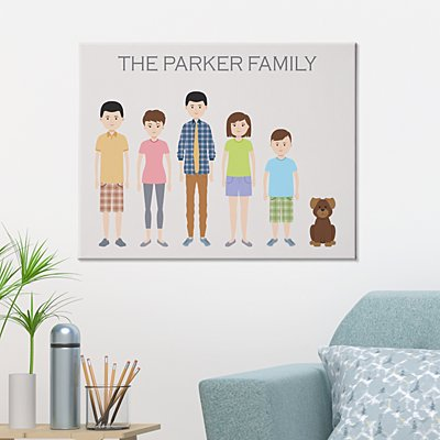This is Our Family Canvas