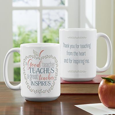 What Makes A Teacher Great Mug