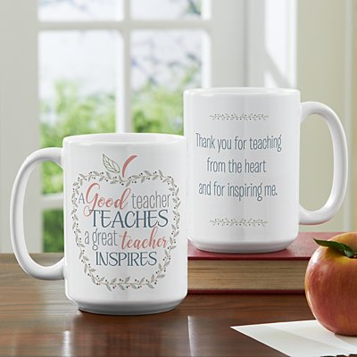 What Makes A Teacher Great 15oz Mug