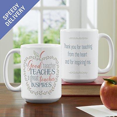 What Makes A Teacher Great Mug