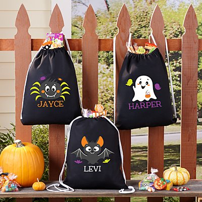 Cute & Spooky Halloween Treat Sack
