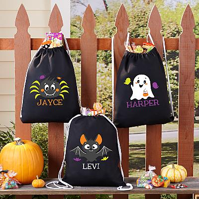 Cute & Spooky Halloween Treat Sack