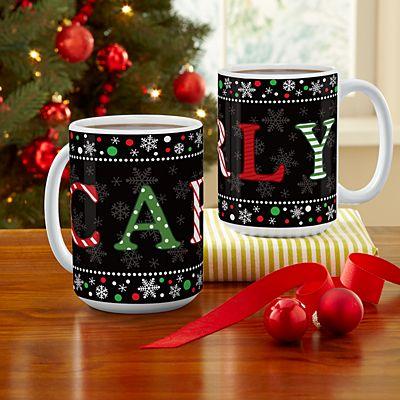 Festive Name 15oz Mug