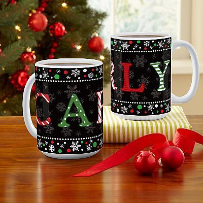 Festive Name Mug