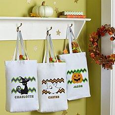 Fiendish Fun Halloween Treat Bag