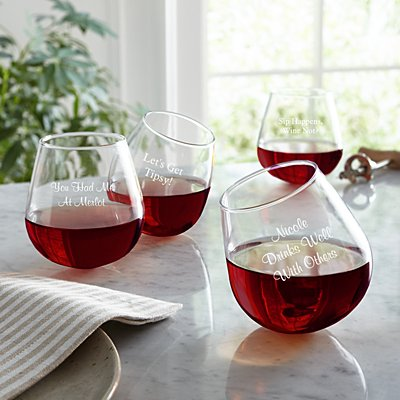 Get Tipsy! Aerating Wine Glass
