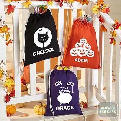 Halloween Cuties Glow In The Dark Treat Sack