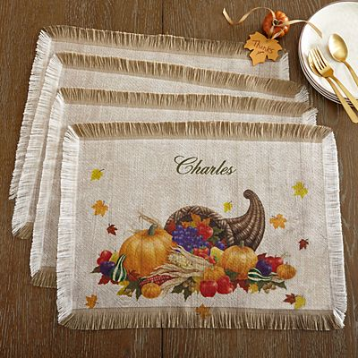 Harvest Gather Placemats