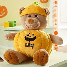 Jack-O-Lantern Teddy Bear
