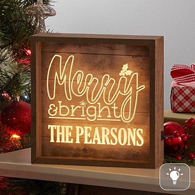 Merry & Bright Light Box