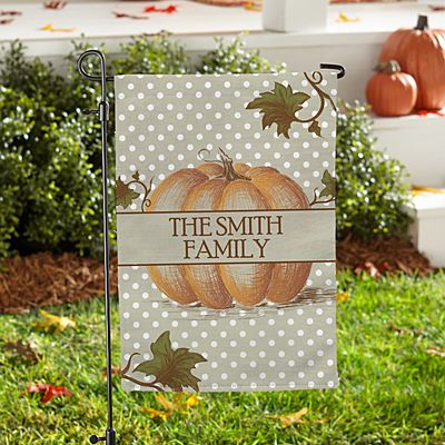 Our Little Pumpkin Patch Garden Flag