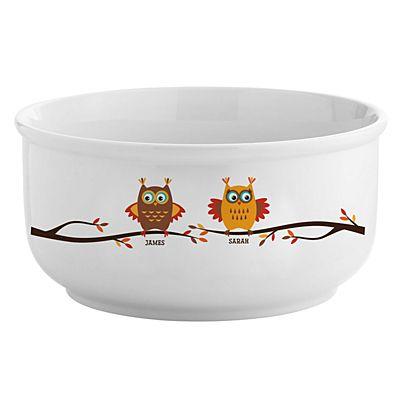 Petite famille owl crystal-Cadeau personnalisé crémaillère