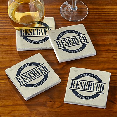 Special Reserve Marble Coasters