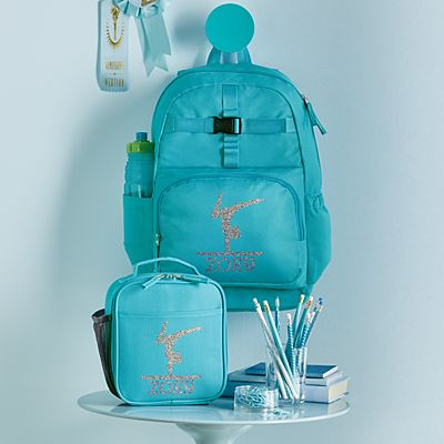 Sporty Sparkle Aqua Backpack Collection