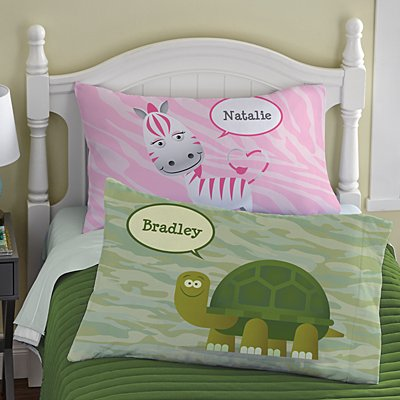 Bubble Buddies Pillowcase
