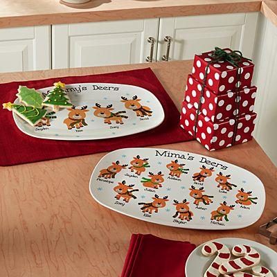 Little Deers Platter