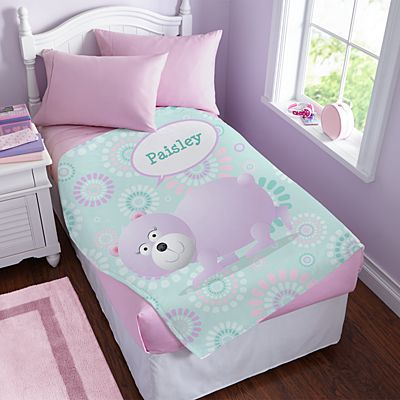 Bubble Buddies Plush Blanket