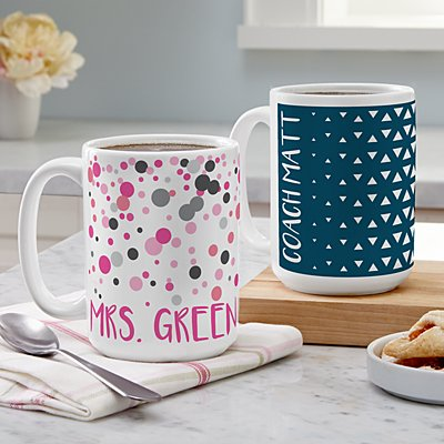 Pop Patterns Mugs
