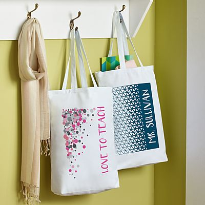 Pop Patterns Tote Bag