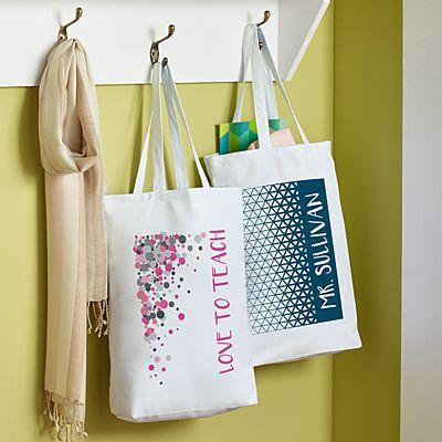 Pop Patterns Tote Bag