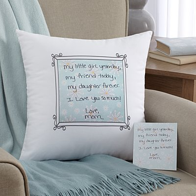 In Your Own Words Throw Pillow