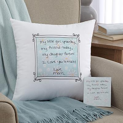 In Your Own Words Cushion