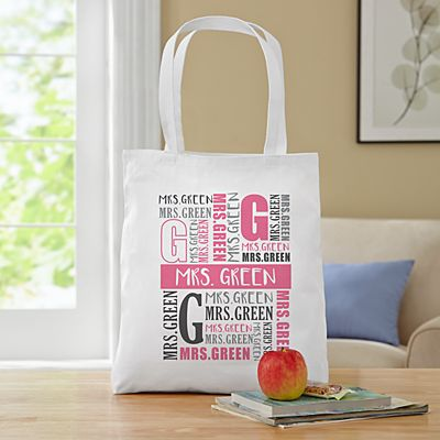 Name Game Tote Bag