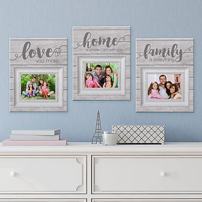 Rustic Home 3pc Canvas Set