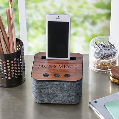 Bluetooth Wood Speaker Dock