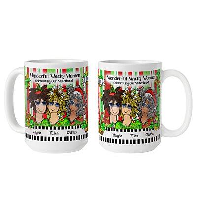 Celebrating Girlfriends  Mug by Suzy Toronto - 3