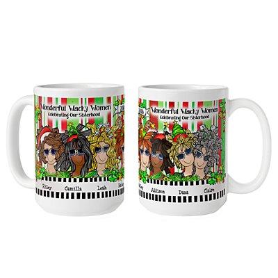 Celebrating Girlfriends  Mug by Suzy Toronto - 7