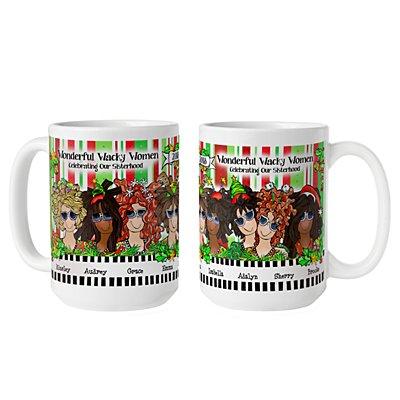Celebrating Girlfriends  Mug by Suzy Toronto - 8