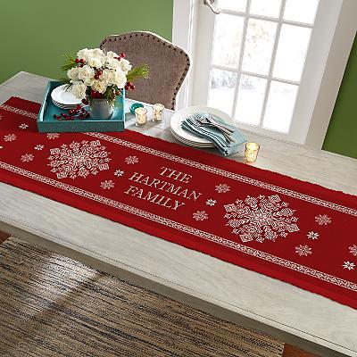 Classic Snowflake Table Runner