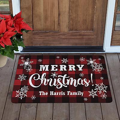Cozy Christmas Doormat