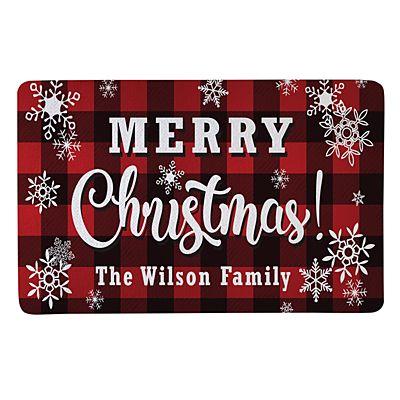 Cozy Christmas Doormat-17x27