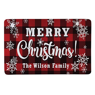 Cozy Christmas Doormat-17x27